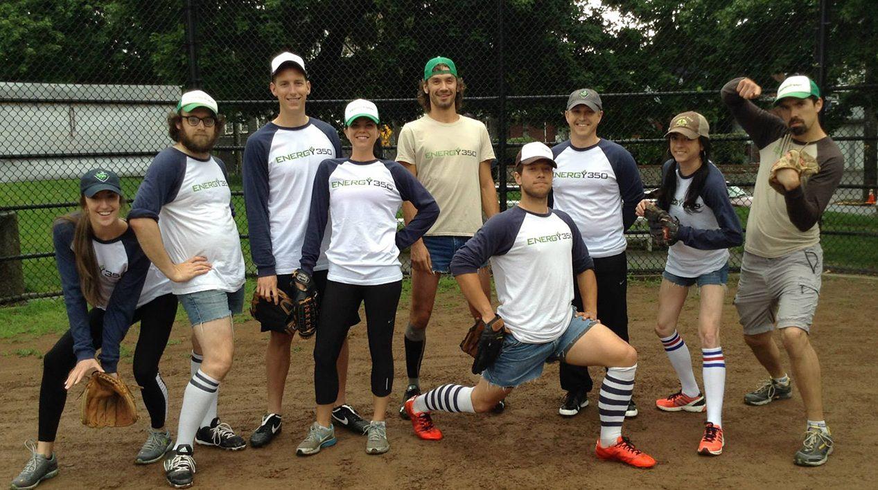 E350 softball team