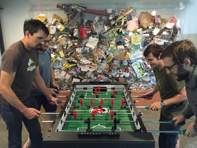 E350 foosball competition