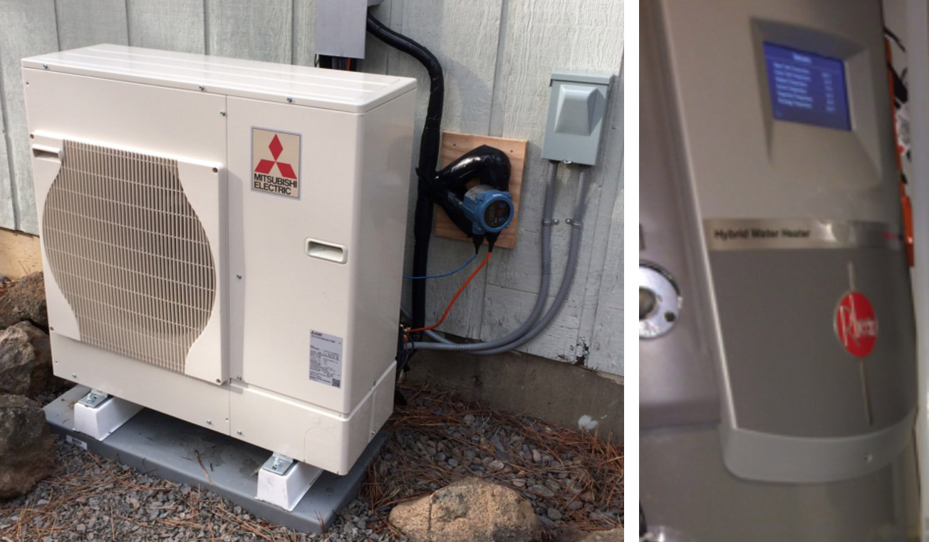 Field and Lab Testing of Mitsubishi's Prototype Ductless Heat Pump (DHP) plus H2O Product for NEEA