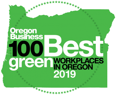 Oregon Business 100 best green companies in Oregon 2019