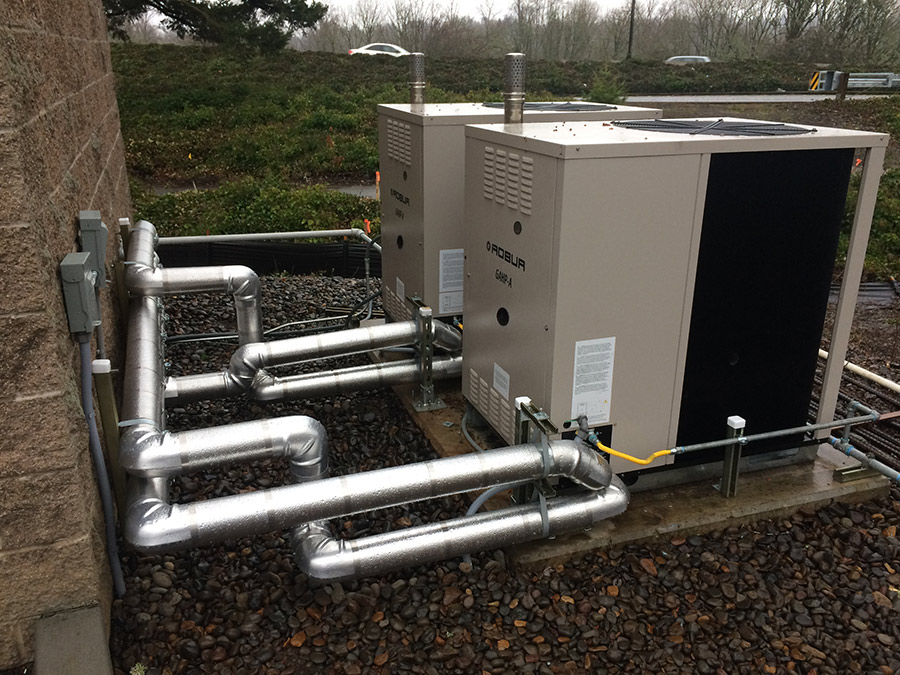 gas absorption heat pump field testing