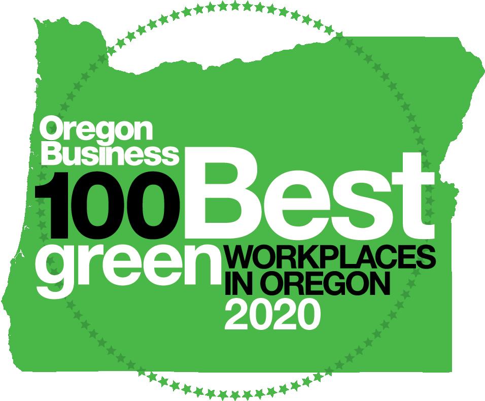 Oregon Business 100 best green companies in Oregon 2019